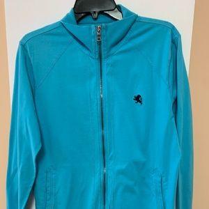 Express blue medium sweatshirt full zipper